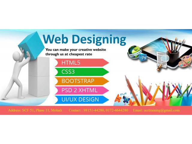 Web Design Training in Chandigarh - Windowit