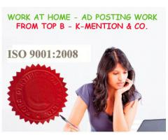 Simple Homebased ads posting work call 9898665104 - Patna