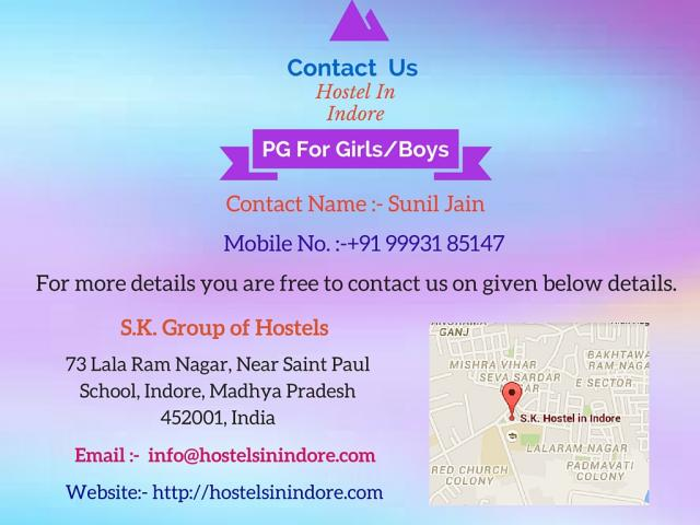 hostels in indore