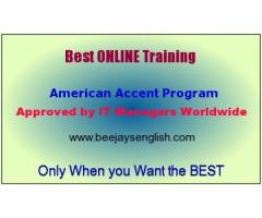 Beejays Skype American Accent Training with Live Tutor Online